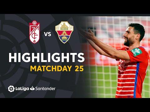 Granada Elche Goals And Highlights
