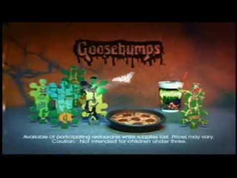 Pizza Hut / Goosebumps Commercial thumbnail
