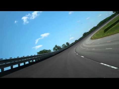 120 mph Drive Around Honda Test Track