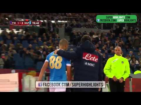 Fiorentina vs Napoli 1 3 Highlights Coppa Italia 2014 Final
