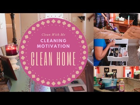 Clean With Me  Cleaning Motivation  Clean Home