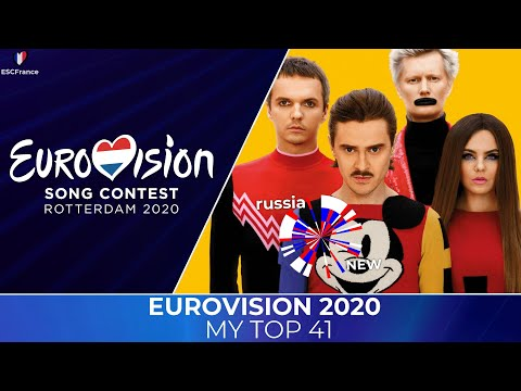 Eurovision 2020 | My Top 41
