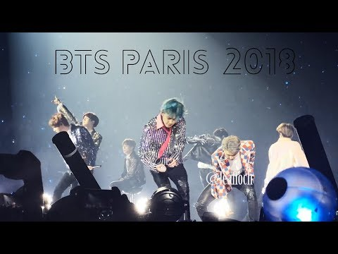 BTS- PARIS 2018 [Blood Sweat & Tears, GOGO, fire,...] HD