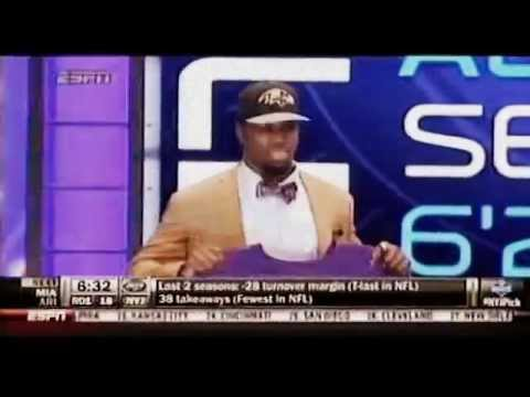 Baltimore Ravens draft CJ Mosley in The First Round of The 2014 NFL Draft