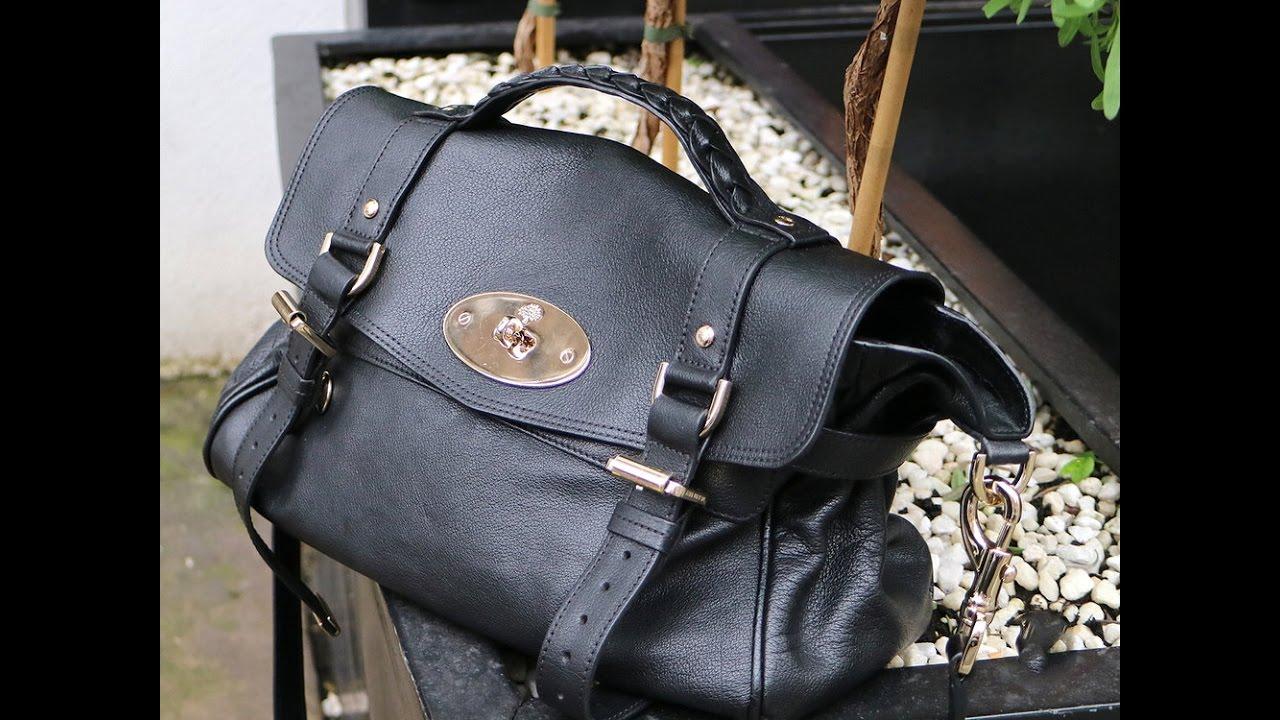 98e485e5f8c6 Real Mulberry Alexa bag