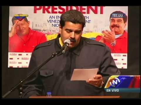 COMPLETO: Nicolás Maduro en evento en el Bronx, Nueva York, 23 septiembre 2014
