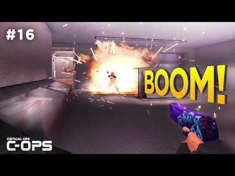 Critical Ops Funny Moments! C-OPS Funniest & Random Moments #16