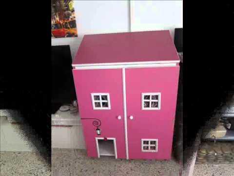 Casita armario y mesa de peluquer a para perros de raza - Como hacer puertas de armario ...