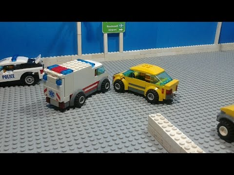 Lego City: Rockwell Town Car Accident [Stop Motion Animation] thumbnail