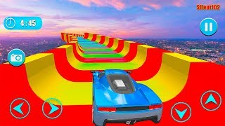 Water Slide GT Racing Stunts: Car Driving - Best Android GamePlay By Silent102