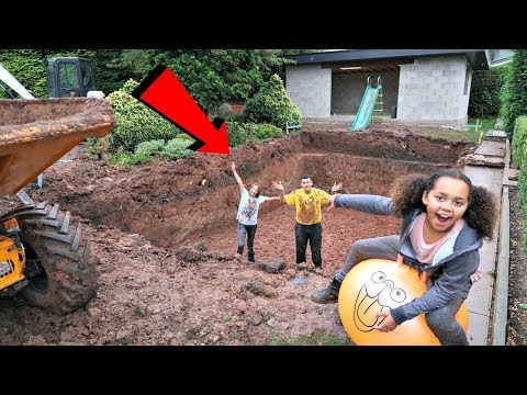 Thumbnail: Swimming Pool In Our Garden - House Tour - Gross Mud Challenge | Famtastic