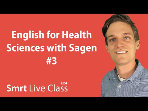 English for Health Sciences with Sagen #3