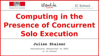 Computing in the presence of concurrent solo executions