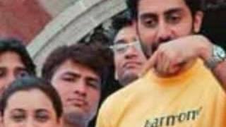 Rani with Abhishek or Shahrukh