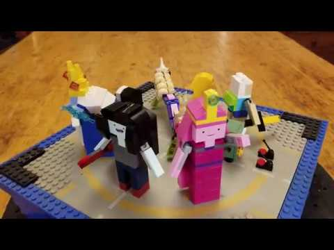 Lego - Adventure Time By The Montreal Lego Maniac
