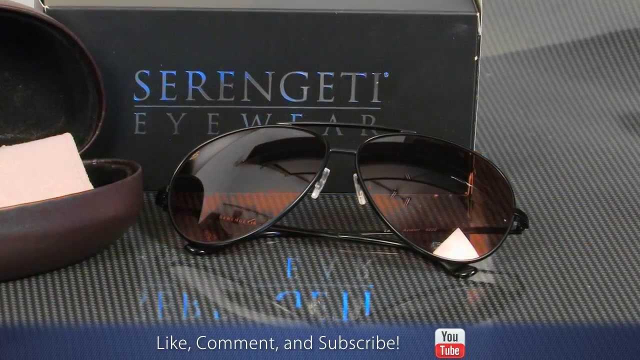 46e428fbbd3c Serengeti Aviator Sunglasses - OpticsPlanet.com - YouTube