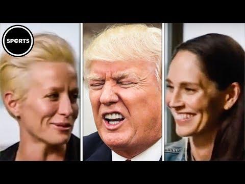 Sue Bird And Megan Rapinoe Put Trump On BLAST