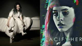 Pacify her x wish you were gay (mashup/Extended version) Melanie Martinez and Billie Elish