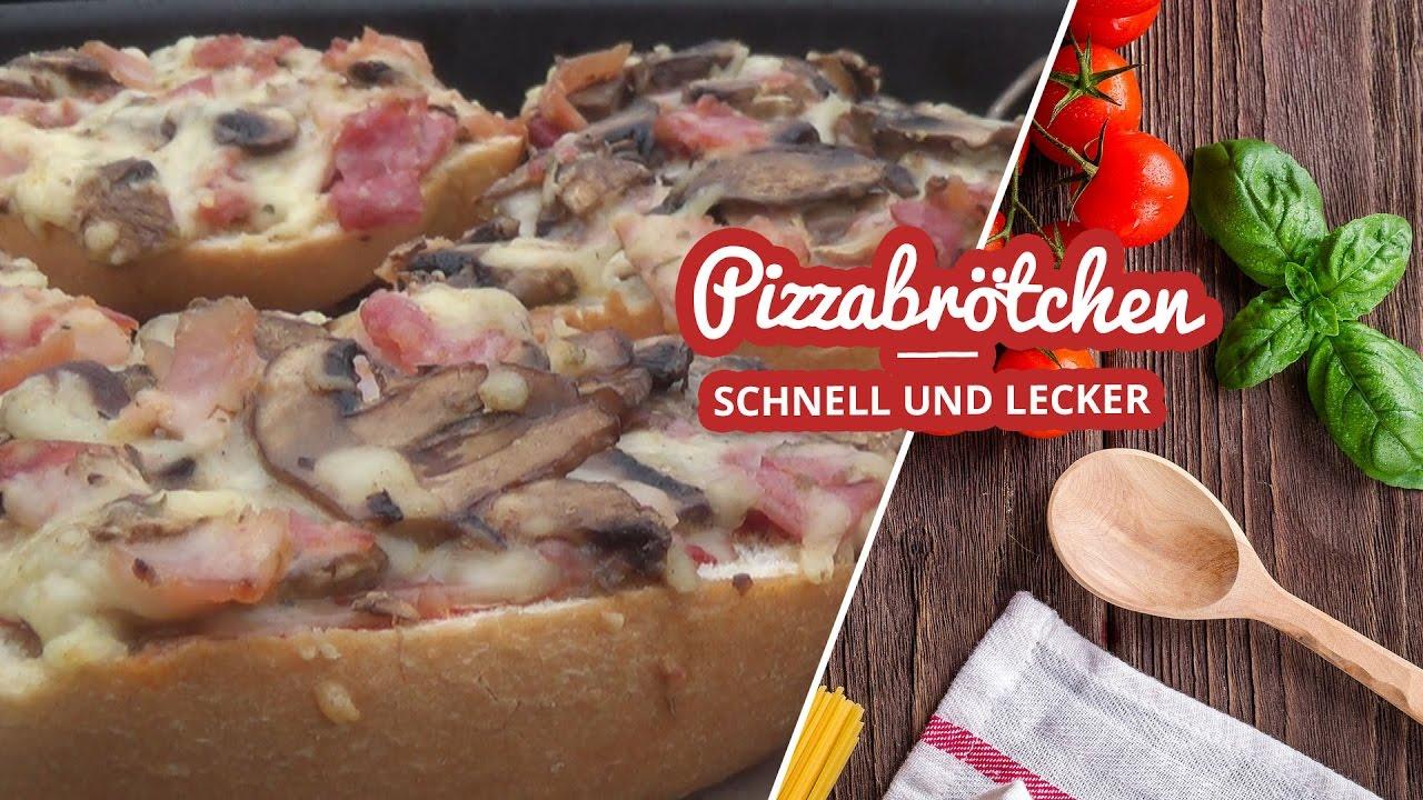 Pizzabrötchen schnell und lecker vom Grill Artikelbild