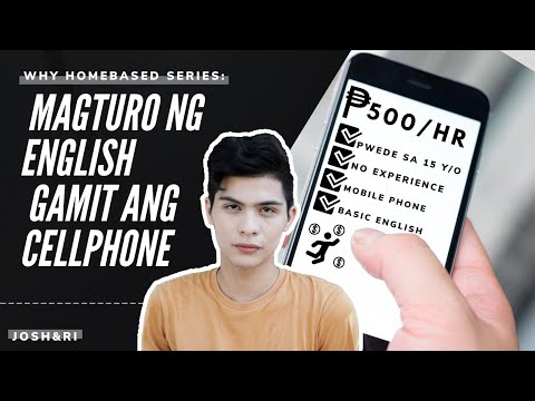 EARN UP TO 500PHP/HR | TEACH ENGLISH USING PHONE 2020 |WHY HOMEBASED 2