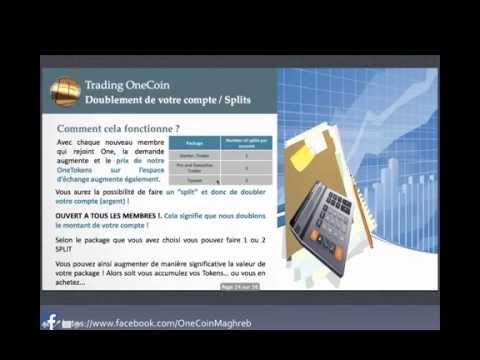 OneCoin  عرض مشروع لشركة وان كوين