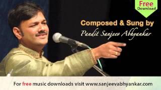 Pandit Sanjeev Abhyankar- Classical - Raag Hansadhwani- Part 2- Tarana
