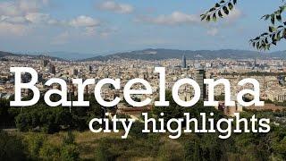 Barcelona city tour highlights travel vlog