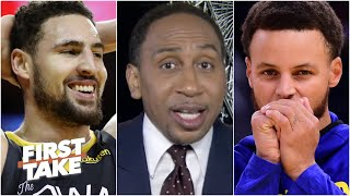 Stephen A. gets hyped for the Splash Bros & says the Warriors can dethrone the Lakers | First Take