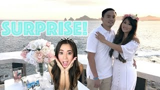 Princess T SURPRISE PROPOSAL with toddler kid NOAH Family Fun Vacation Vlog Princess ToysReview