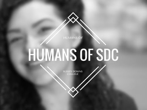 Humans of Sussex Downs College - B&W
