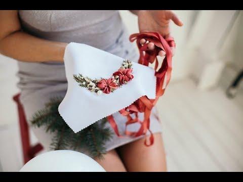 Вышивка лентами для начинающих пошагово 1часть/ How to embroider ribbons 1р