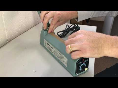 How To Change Teflon Tape & Element On A Heat Sealer