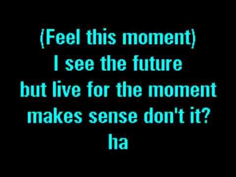Pitbull Feat Christina Aguilera   Feel This Moment Karaoke)