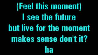 Pitbull Feat Christina Aguilera   Feel This Moment Karaoke)