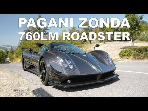 The worlds best Pagani? Zonda 760 LM Roadster