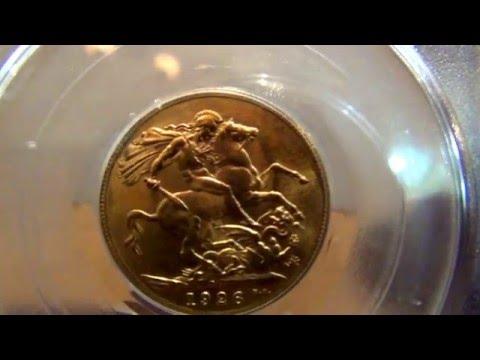 1926 SA Sovereign PCGS MS64 Gold Coin