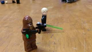 Sick Lego star wars setup FT. The Lego jedi