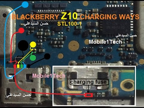 BlackBerry Z10 Usb Charging Problem Solution Jumper Ways