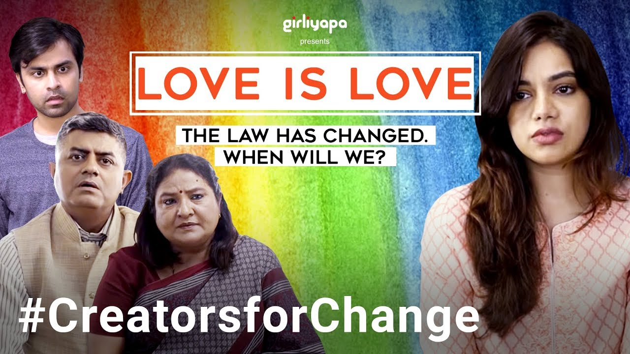 Love is Love | YouTube Creators For Change | Girliyapa M.O.M.S