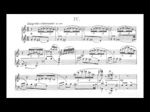 Béla Bartók - Improvisations on Hungarian Peasant Songs [With score]