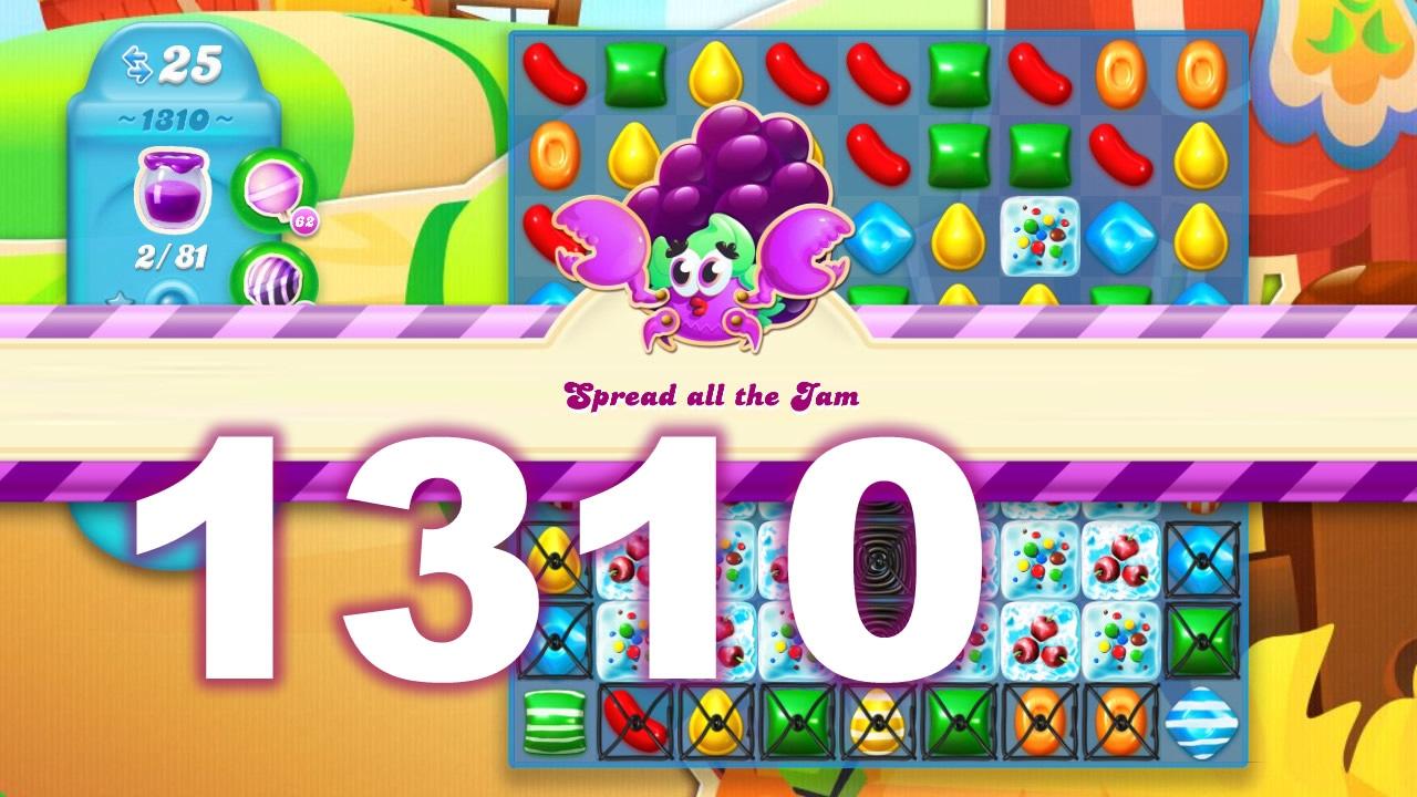 Candy Crush Soda Saga Level 1310