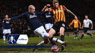 Bradford 4-0 Millwall - FA Cup Third Round   Goals & Highlights