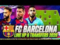 FC BARCELONA JANUARY TRANSFERS TARGETS 2020 &  LINE UP 2020 | CONFIRMED TRANSFERS | w NEYMAR & MESSI