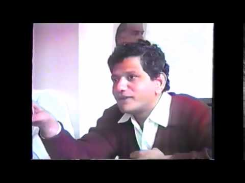 Sitaram Yechury at AIC -CPI(M) Party School Leicester 1993