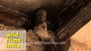 Famous tourist destination in India: Ellora Caves, Aurangabad
