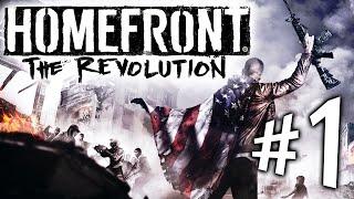 Homefront The Revolution - Parte 1: Bem-Vindo à Resistência! [ PC - Playthrough PT-BR ]