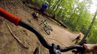 New Mountain Biker at Pocahontas State Park Freight Line, Blue Jay Way and  Moonshine