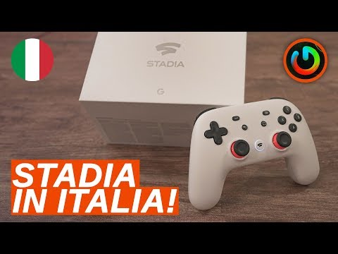 Ho Provato GOOGLE STADIA In ITALIA!