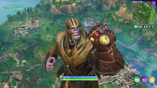 VINCERE AGILE CON THANOS!!NEW GAME MODE|FORTNITE BATTLE ROYALE