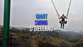Serunya Giant Swing, Wisata Adrenalin yang Patut Dicoba di Sarae Hills Punclut Bandung